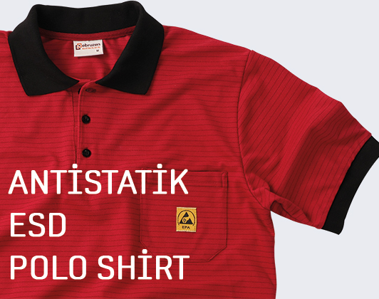 esd antistatic polo shirts tshirts